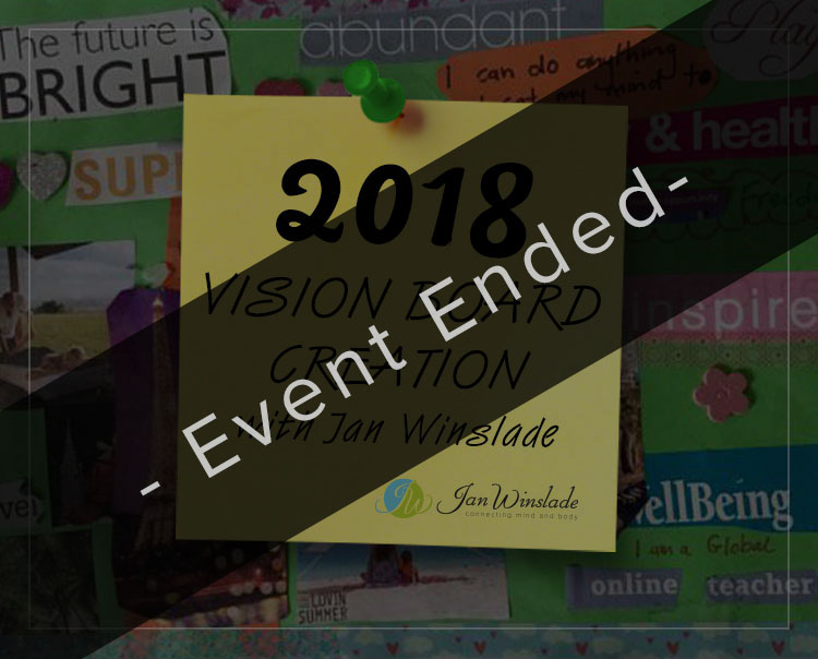 2018 Vision Board Creation with Jan Winslade