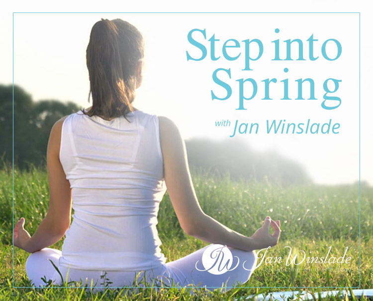 Step Into Spring with Jan Winslade [Canberra Edition]